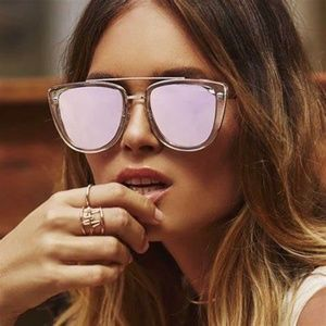 Quay French Kiss Rose Gold Sunglasses